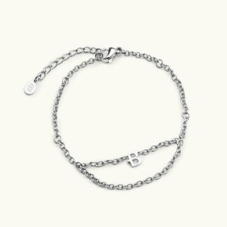 Bovou B chain silver