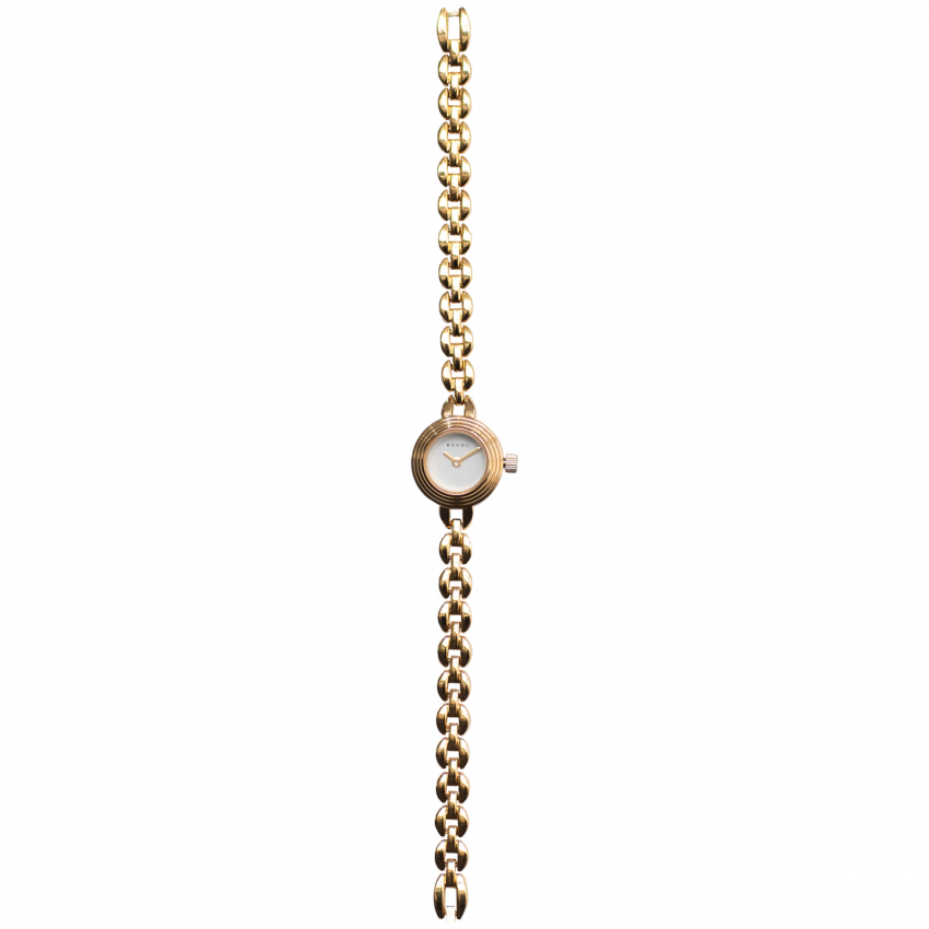Bovou watch gold