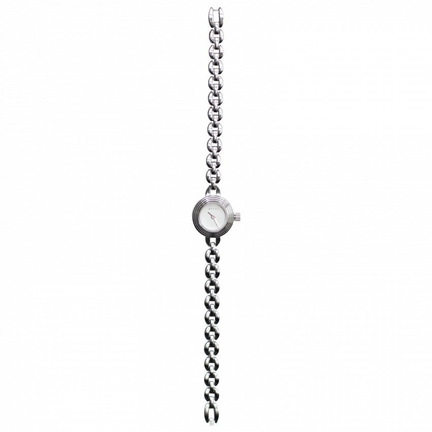 Bovou watch silver